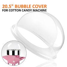 Coupole De Protection Machine Barbe A Papa Bulle Capot Verre Acrylique 52 Cm Pro