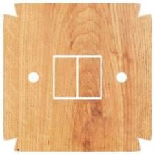 Productos de decoración de dormitorio infantil de madera para niños