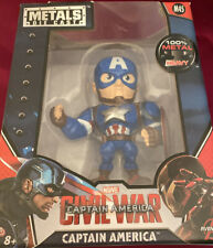 "Marvel Captain America Civil War Metals Die Cast 4"" Figure M45 Avengers NEW"