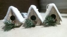 Bird House Ornaments 9291386 3 Pack, FREE SHIPPING