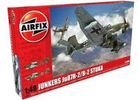AIRFIX® 1:48 JUNKERS JU87R-2/B-2 STUKA MODEL AIRCRAFT KIT WW2 MODEL PLANE A07115