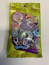 Lila with a Blue Doughnut Ring Polly Pocket Tiny Takeaway New In Package K1b