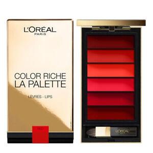 L'Oreal Color Riche La Palette Lips – Red / Genuine