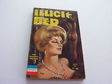 ILLICIT BED  1963  FRED MACDONALD   RARE!  ONE OF THE ALL-TIME GREATS  NEAR FINE