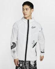 Nike Wild Run Windrunner Hooded Running Jacket White Men's Size Medium NWT $130