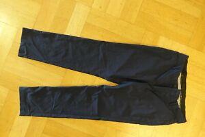 Kjus Golfhose Herren Hose Sommerhose Pants Chino Gr. S-48 blau Gebraucht Wie NEU