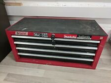 Halfords Professional Metal Tool 4 Drawer Unit - RED