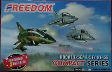 Freedom ROCAF F-5E F-5F RF-5E Compact series egg plane 3 full kit inside