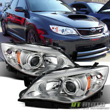 2008-2011 Subaru Impreza WRX STi Outback Sport Headlights Lamps 08-11 Left+Right