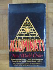 INWO Illuminati New World Order Booster Display - SEALED NEW 36 New Packs Steve