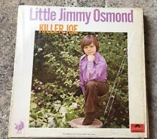 LITTLE JIMMY OSMOND - Killer Joe - Canadian Pressing LP IN SHRINK
