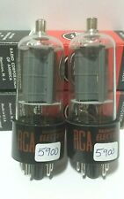 2 Matching RCA 6BQ6 GTB 6CU6  Vacuum Tubes Tested New On Calibrated Hickok