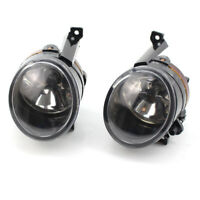Pair Of Front Halogen Fog Lamp Light For VW Golf Tiguan Caddy Polo Touran Polo