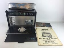 Vintage Zenith Trans-Oceanic ROYAL D7000Y Radio w/ NAT. WEATHER BAND WORKS GREAT