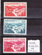 Germany / Saarland 1947 Mi. Nr. 252-254 Air Mail Issues MNH (**)
