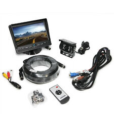 "Rearview Safety 7"" LCD Backup Camera System with Integrated Rear Sensors"