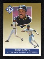1991 Fleer Ultra Gold #1 Barry Bonds Pittsburgh Pirates Insert Baseb Card NM/MT+