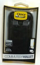 OtterBox Commuter Wallet Case for Samsung Galaxy S4 - Black