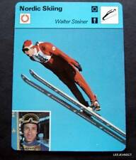 New listing 1977-1979 Sportscaster Card Nordic Skiing Walter Steiner 12-21