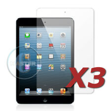 3X INVISIBLE PROTECTION FRONT HD CLEAR SCREEN PROTECTOR FOR APPLE iPAD MINI 4321