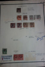 French Protectorate & Colonies Stamps Early Specialty Collection