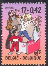 """Belgium 2000 Stamp Week/""""Kiekeboe"""" TV Series/Cartoons/Animation 1v (n42894)"""