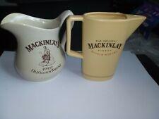 2 Vintage Mackinlays Pub Whisky Jugs