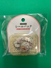 Sanrio Japan: Hello Kitty Stickers With Plastic Yellow Case (A4)