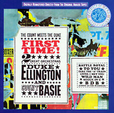 First Time! The Count Meets the Duke by Count Basie Duke Ellington CD 1987