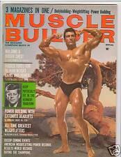Muscle Builder Bodybuilding Fitness Magazine Frank Zane/ Clancy Ross 11-66