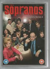 THE SOPRANOS - COMPLETE SERIES 4 - UK R2 DVD SET - mint condition - new/unplayed