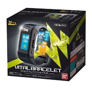 Digivice Digimon Vital Breath Digital Monster Watch Black Bandai