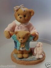 "CHERISHED TEDDIE ""DELIA"" 476536 ""YOU'RE THE BEARY BEST BABYSITTER"" MINT IN BOX"