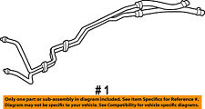 Jeep CHRYSLER OEM 05-07 Grand Cherokee Oil Cooler-Line Kit 55038175AA