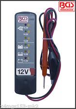 BGS - Werkzeug - 12 V Battery and Alternator Tester - Pro Range - 2189