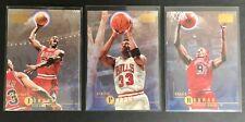 Skybox Premium Michael Jordan, Pippen + Rodman Cards - Last Dance Chicago Bulls
