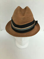 Vintage Roos Atkins California Women Triby Brown Size: 6 7/8 Hat