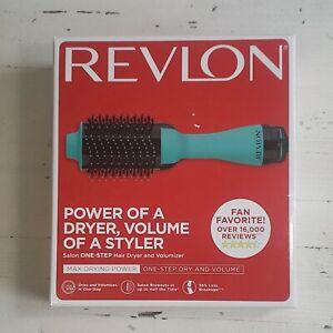 Revlon Salon One Step Hair Dryer And Volumizer Oval Brush Reduce Frizz & Damage