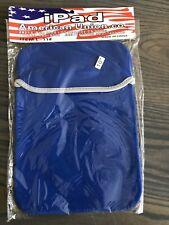 Blue Neoprene Soft Tablet Sleeve Case Bag for iPad 4th Retina/iPad 3/iPad 2