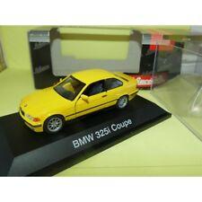 BMW SERIE 3 E36 325 i COUPE Jaune SCHUCO 1:43
