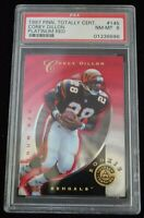 PSA Graded 8 NM-MT 1997 Pinnacle Corey Dillon Cincinnati Bengals
