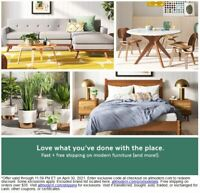 💕ALLMODERN EXTRA 10% OFF COUPON EXP. 4/30/21 INCL. FURNITURE⚡️FAST E-DELIVERY