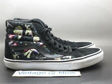 8b0eba00d6 Men s Vans X Toy Story Buzz Lightyear Sk8-Hi Reissue Skate Shoes ...
