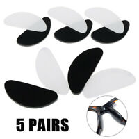 10Pcs Adhesive Anti-slip Silicone Nose Pads Stick On For Eyeglasses Glasses