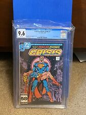 DC Comics Crisis On Infinite Earths #7 CGC 9.6 Death Of Supergirl