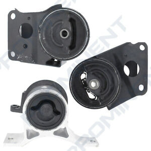 Motor Mounts 3 Replacement for 2002-2009 Nissan Murano Altima Maxima Quest 3.5L