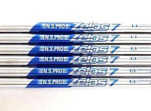 NEW Nippon Shaft NS PRO ZELOS7, R Flex, .355 Taper, For 5-PW, 6 Shafts