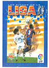 Las fichas de la Liga 1995/96 de Mundicromo. Colección completa.