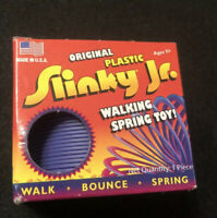 Original Plastic Slinky Jr. 2008 Toy by Poof Slinky Inc. Purple Made USA New