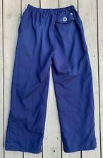 Sunderland of Scotland *Gore-Tex* golf rain pants ~ mens M/L ~ Navy Blue